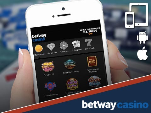 betway casino mobile version