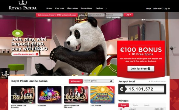 royal panda casino bonuses